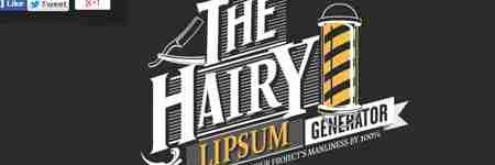 The Hairy Lipsum lorem